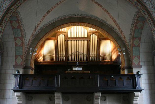 Klais-Orgel, St. Trinitatis, Hl. Dreifaltigkeit, Weißenthurm