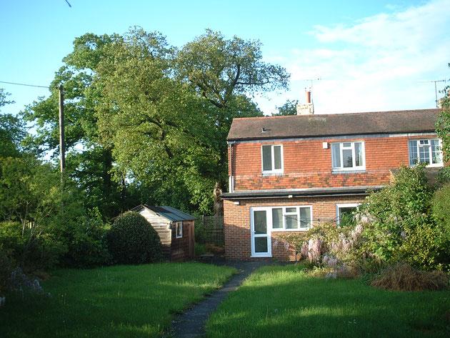 柴ちゃんがイギリスの会社に勤めていたときに住んでいた家。