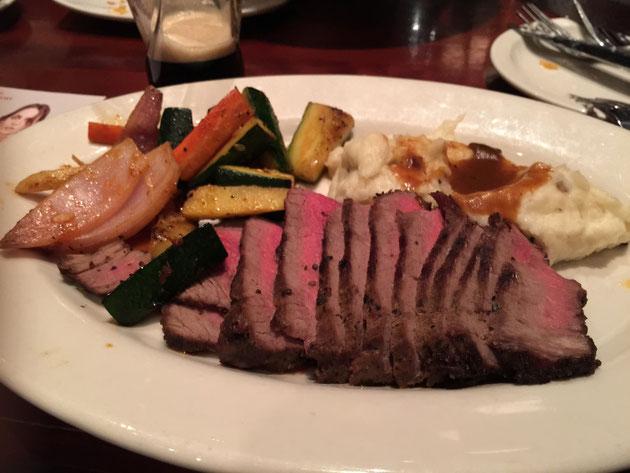アメリカのステーキの印象が変わった!非常においしいお肉でした!