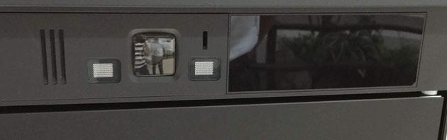これがスマートエクステリアと連動した宅配ボックスのカメラ部分