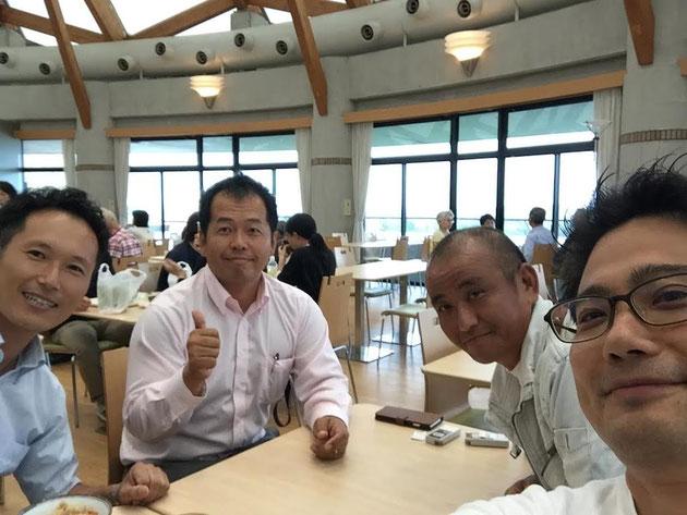 ニットーさんのタイルセミナーに集まった山田さん小林さん田中さん!