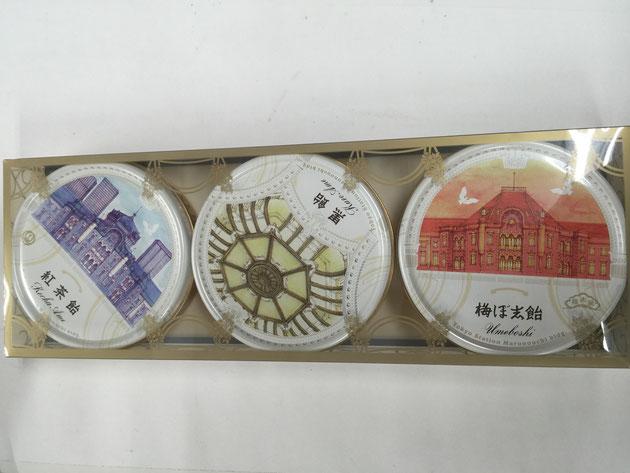 飴が入っていました。しかし、こちらの飴。松屋さんと東京ステーションホテルのコラボ商品のようです!