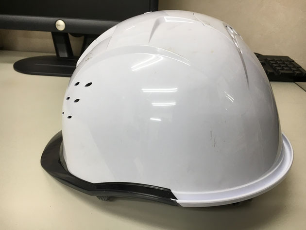 ヘルメット側面