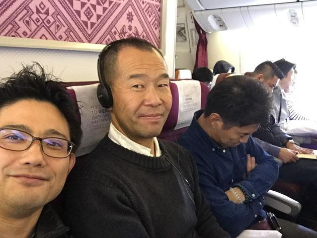 ガーデンドクター柴ちゃん、タイ航空でタイ視察へ出発!