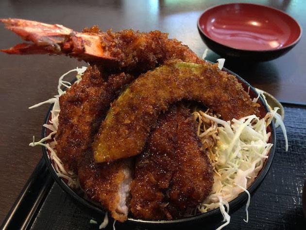 駒ヶ根と言えば名物の『ソースカツ丼』