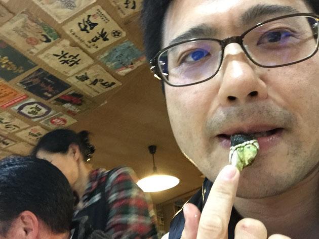 カメノテ美味しい!味は貝のような食感と味でそれにかに風味が混ざった感じだな!絶品!!!