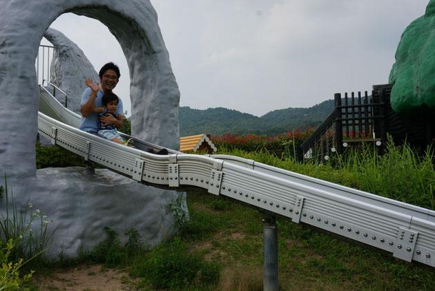 私も、子供と一緒に楽しみました!!滑り台なんて何年ぶりだろう!息子よありがとう!!