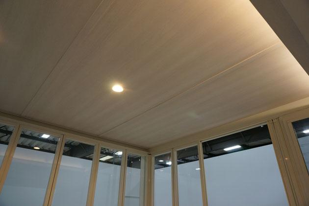 NEWジーマ一番の特徴は内天井を設けられること。