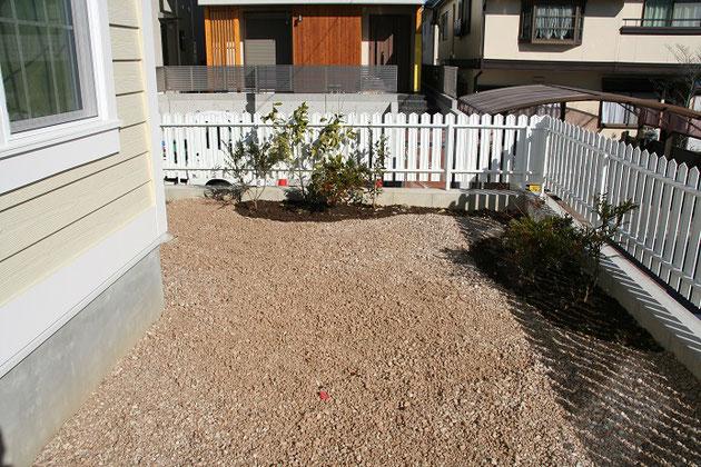 柴垣グリーンテックでご用意できるベージュの建材砂利。