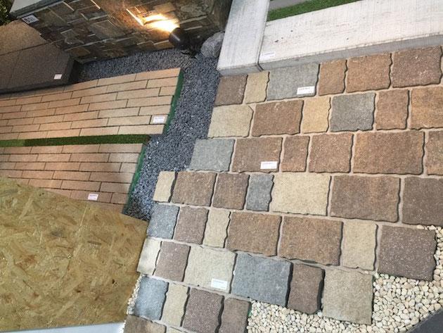東洋工業さんのコンクリート製品。緑との相性が良さそうだ。