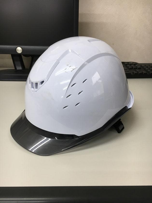 工事用のヘルメット!