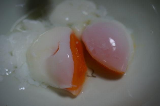 パーフェクトな温泉卵!!!