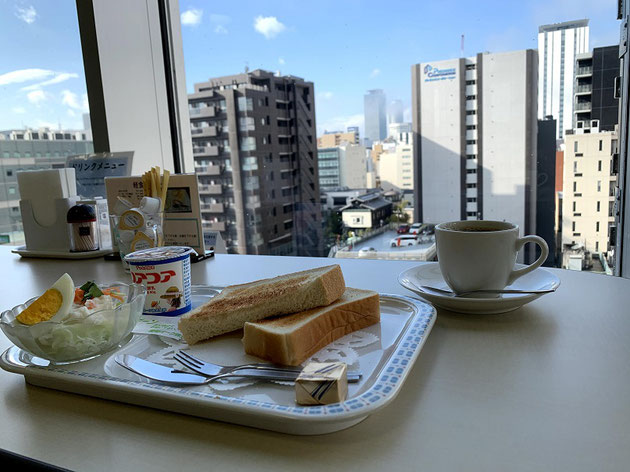 健康診断後の朝食がガーデンドクター柴ちゃんのツボ!