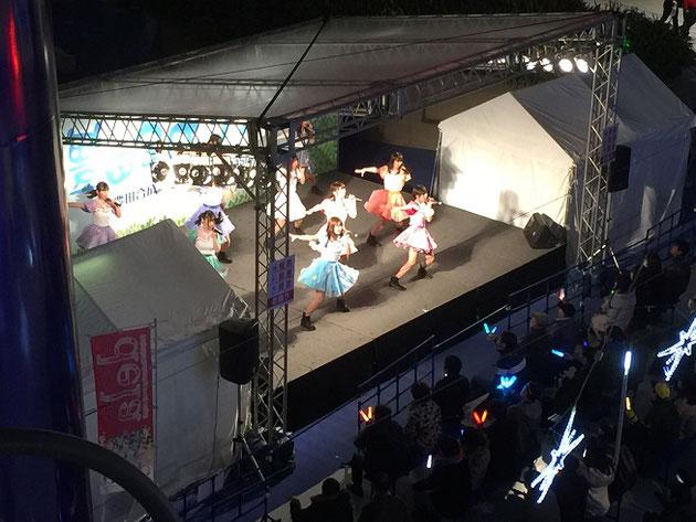 栄のオアシス21で行われていたアイドルさんたちのイベント