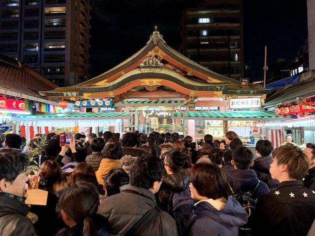 2020年1月9日 十日えびすでごった返す堀川戎神社