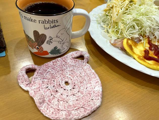 クマカフェさんの店内はクマがコンセプトなのでどこを見てもクマ!