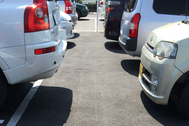 日本の住宅エクステリアで駐車場を作らないことはかなり珍しい。逆に駐車場だけのエクステリアが多いのも事実。