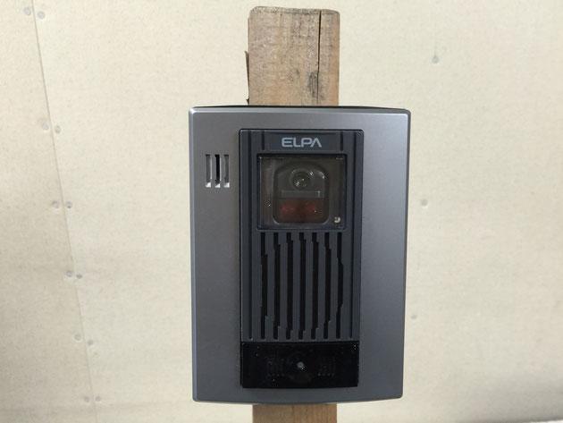 以前お伝えしたELPAワイヤレステレビドアホンWDP−100を実際に現場で仮設用インターフォンとして使用してみました。