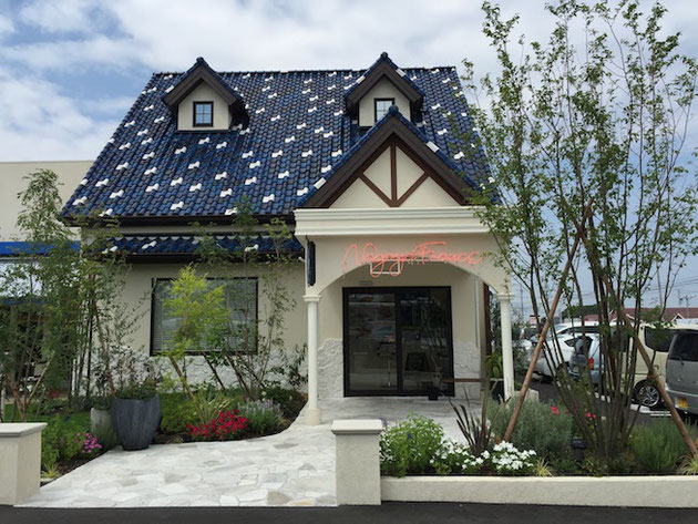 尾張旭市の晴丘にできた名古屋フランスのお店!素敵な洋風外観です!!!