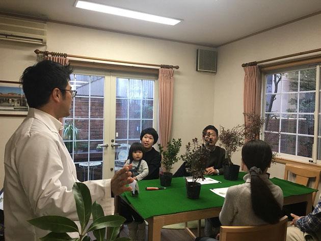 12月に開催した剪定講座の模様です!!!