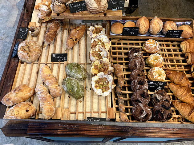 ハンス・ペーターさんのパン。抹茶めちゃ美味しかった。