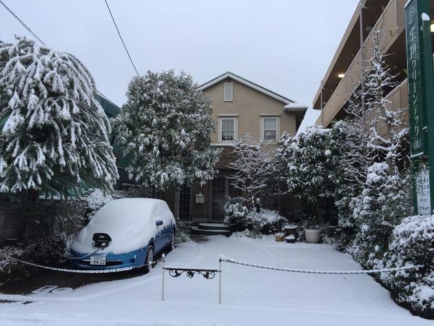 柴垣グリーンテックの社屋もご覧の通り真っ白。