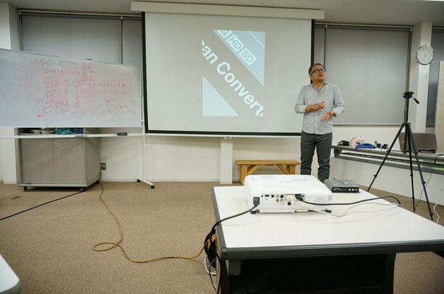 こちらが今回の講師である久門先生。やっぱりプロは違う!!!