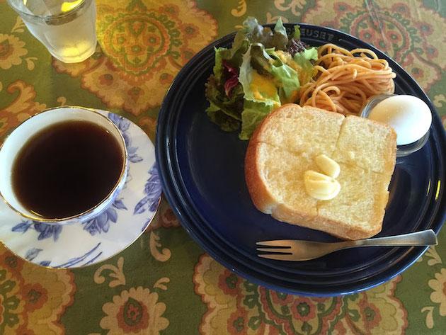柴ちゃんが選んだのはプラス100円のバタートースト