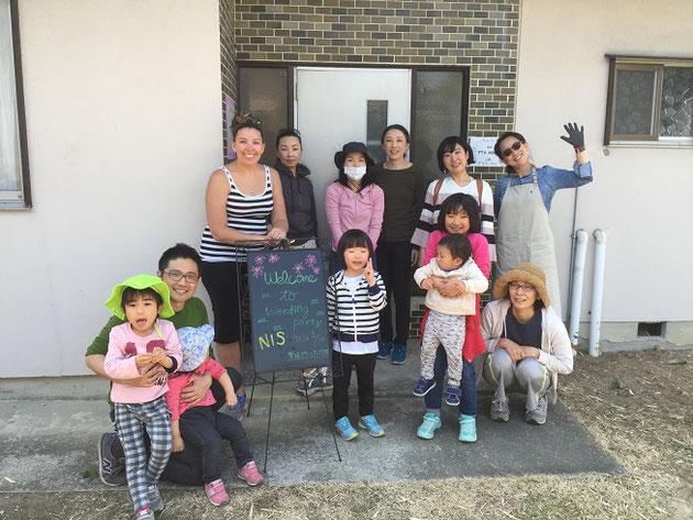 名古屋国際学園のPTAハウスを一緒にガーデンハウスにします!