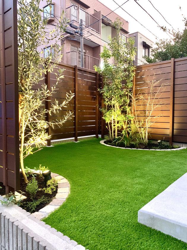 守山区 お手入れのいらない素敵な庭になりました!