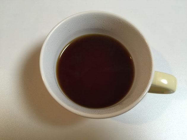どんぐりコーヒーの完成!!!見た目は全くコーヒーです!!!