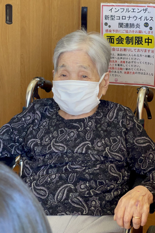 100歳になった祖母に会いに行ってきました!