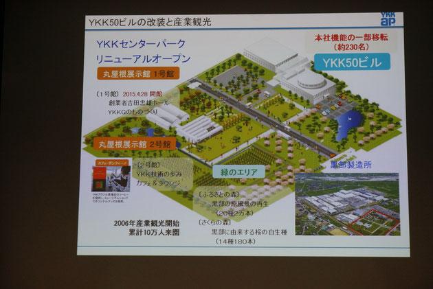YKKセンターパークリニューアルオープン。今は10万人の来場者を目指しておられるそうです!