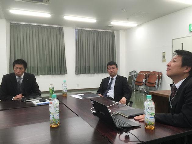 三富さんとリクシルさん主催の経営者懇話会。