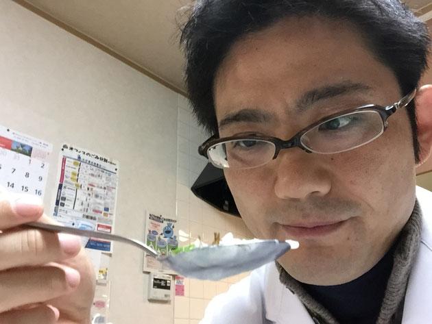朝の五時から七草粥を楽しんだガーデンドクター柴ちゃん!これで一年健康体だ!!!