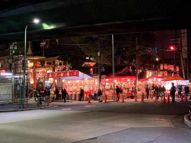 え?お祭り?と思うほど賑わっている堀川戎神社