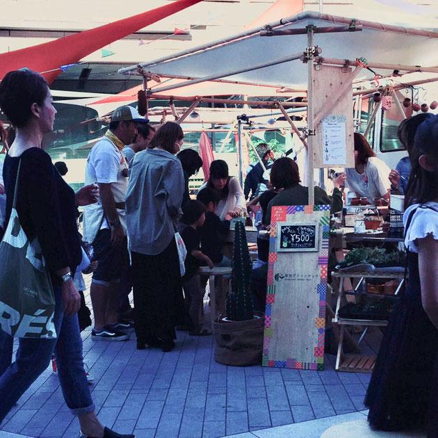 二子玉川のリスボンストリートでバックヤードフェス2018は開催されました!