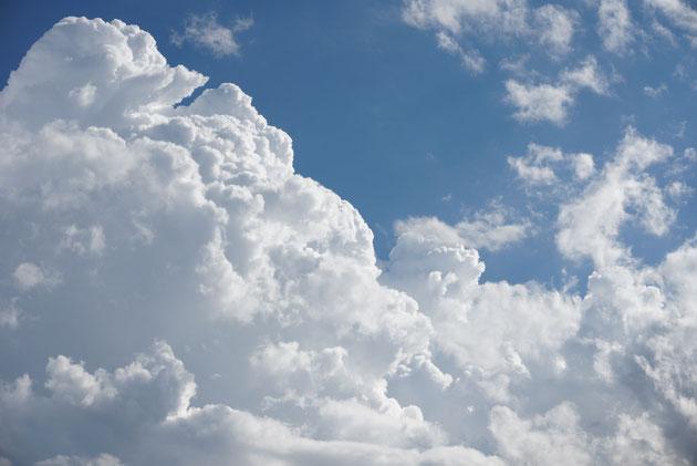 駒ケ根の空は青かった!