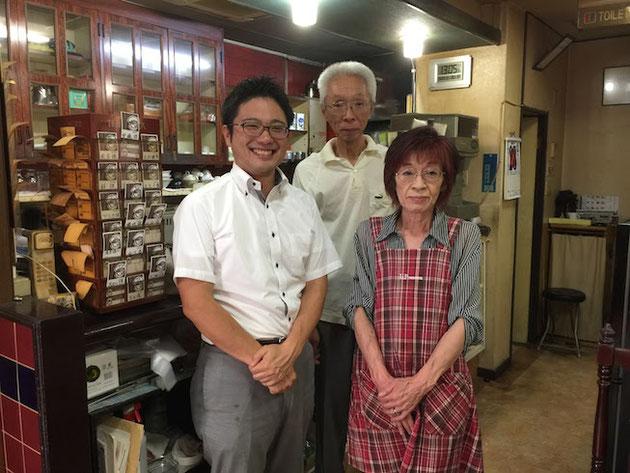 旅路のマスターとママ!今までおいしいご飯をありがとうございました!!!