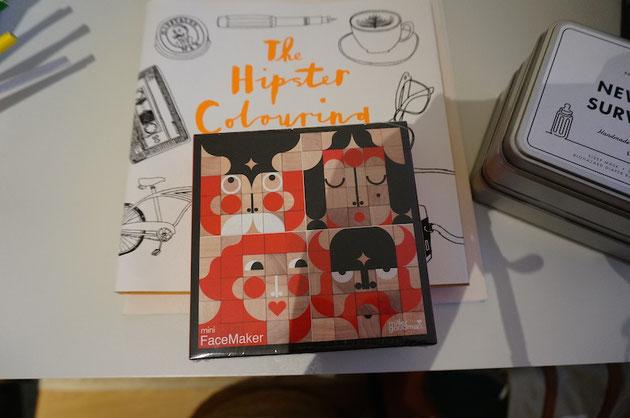 こんなパズル日本に無いな!面白いな〜♪