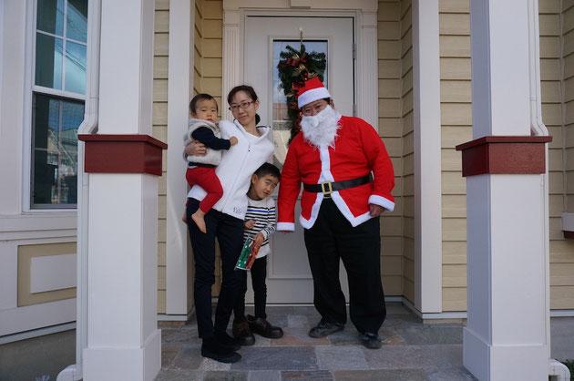 今年も今村サンタが皆様のお家にお邪魔しました!!!