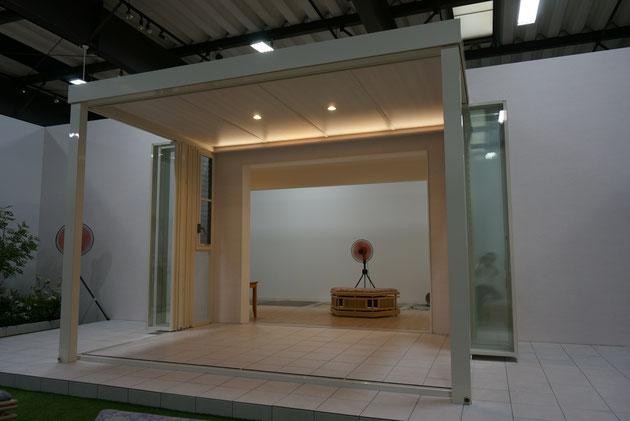 ついに本日発売となったNEWジーマ。内天井付きの新しい概念のガーデンルームは売れるか?