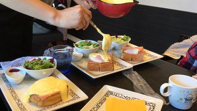 元町珈琲守山志段味の離れで頂くエッグベネディクトモーニング!