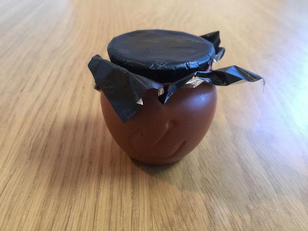 神戸魔法の壷プリン。プリンが一つ一つ壷に入ってた!