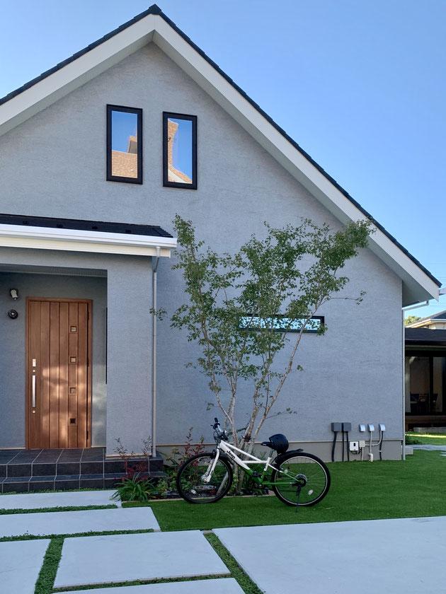 今回のお家の一つは三井ホームさんのウエストウッド!
