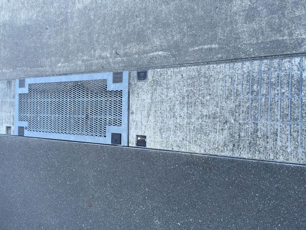編み蓋のグレーチングとグレーチングなのにコンクリートで埋めてあるもの。これは一体どのような「よい使い道」があるのでしょうか?