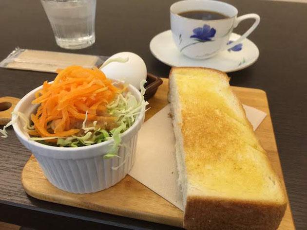 春日井市のSinCafeさんで頂いた素敵なモーニング!