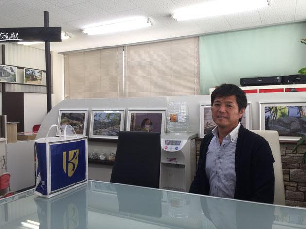 姫路No.1 和モダンお庭専門店『サンガーデン』の田中社長!