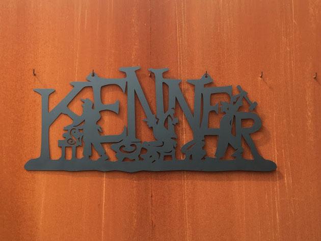 永和工業さんのブランド『KENNER』素敵なアイアンワークがお出迎え。