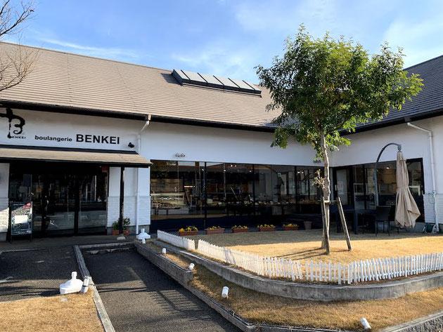 天使のチョコリングで有名なパン屋さん「BENKEI」